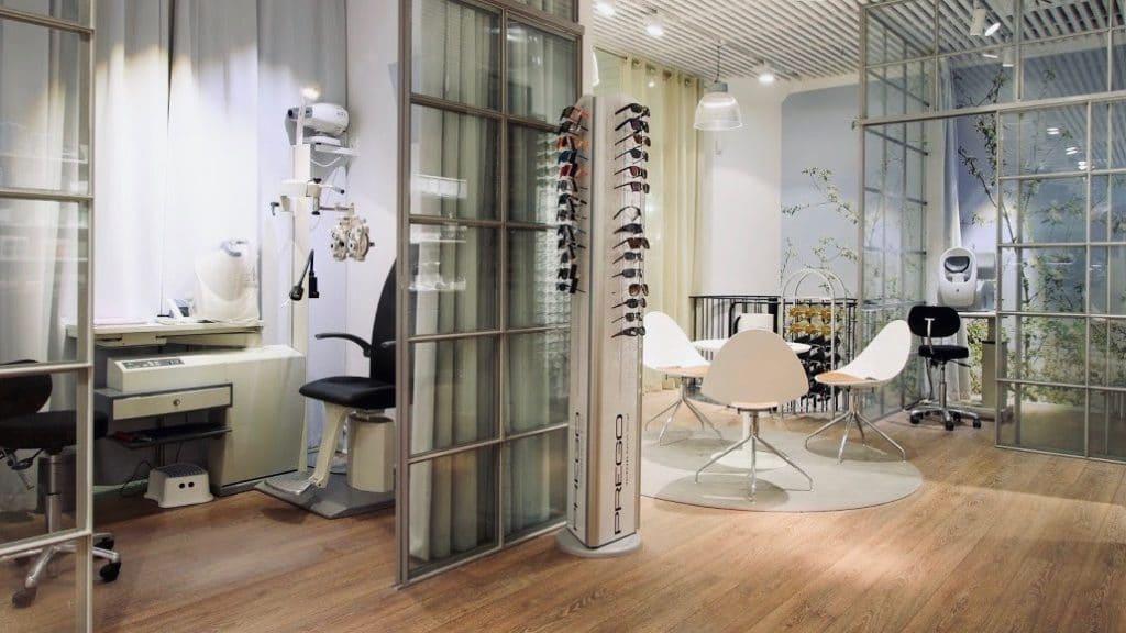AC Optik - Optiker i Rosengårdscentre: Prøverum